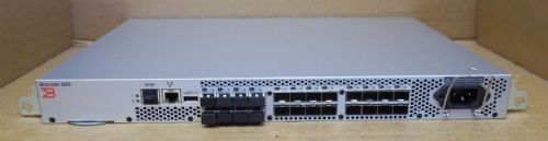 Brocade 300 NA-320-0008 300 24-Port 8Gb Fibre Channel SAN Switch 8 Ports Active